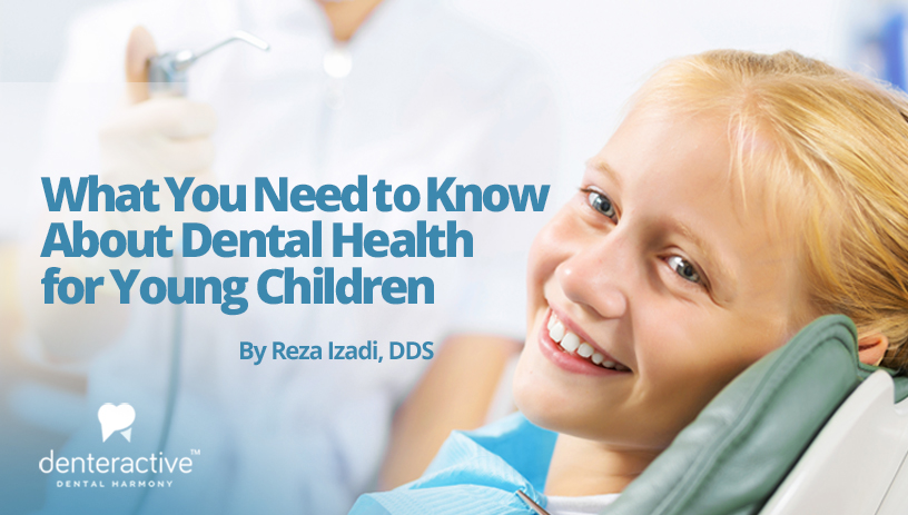 What you need to know about dental health for young children