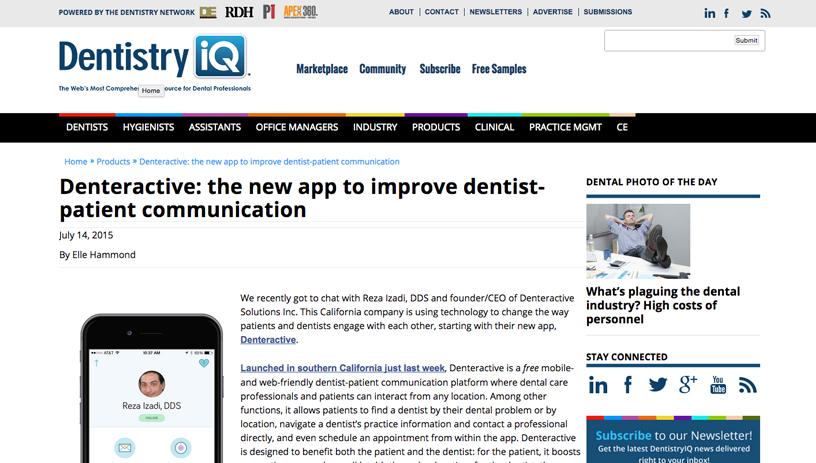 Dentistry IQ Denteractive